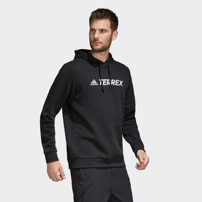 adidas terrex Men's TX GFX Logo Hoodie - Black