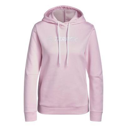 adidas Terrex Women's Terrex Graphic Logo Hoodie - Clear Pink