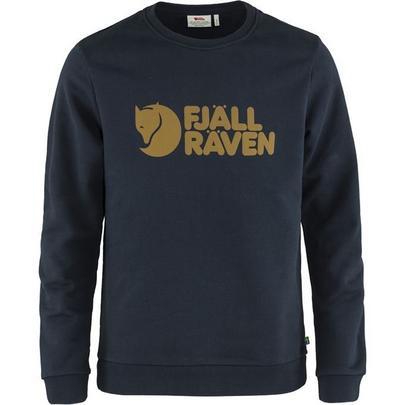 Fjallraven Men's Logo Sweater - Dark Navy