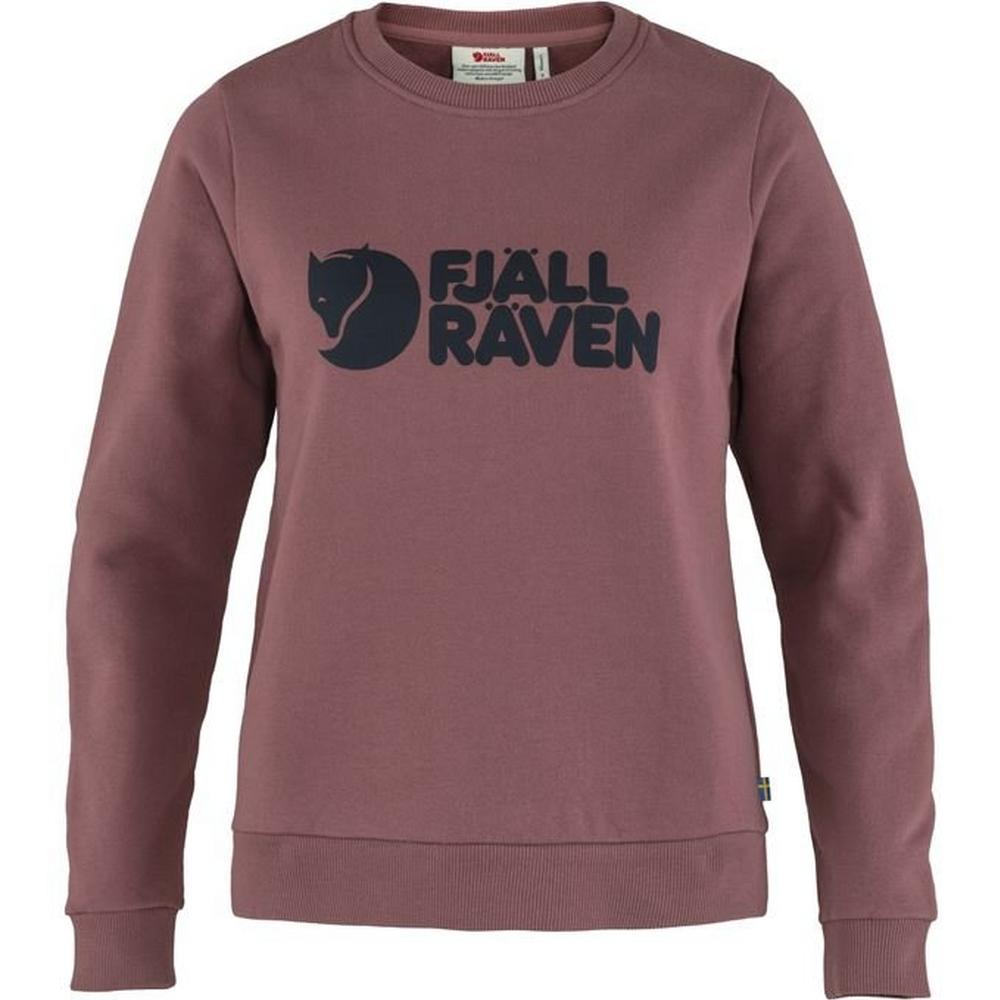 Fjallraven Women's Logo Sweater - Mesa Purple