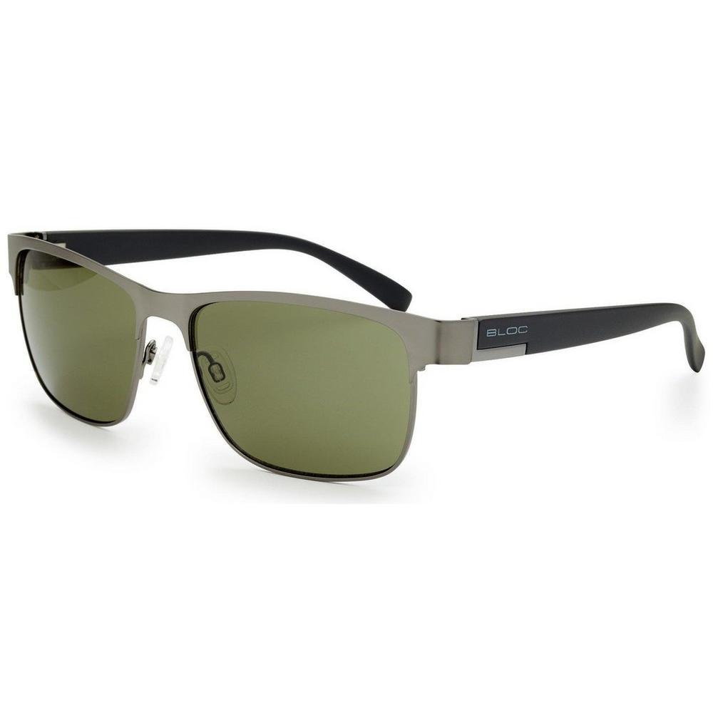 Bloc Deck Matt Gun Black Temple Sunglasses