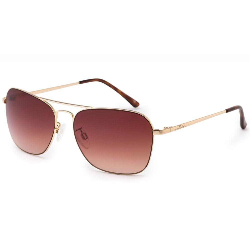 Bloc Sydney F933 Gold/ Brown Sunglasses