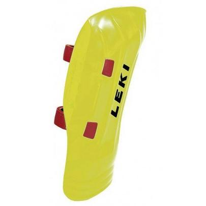 Leki Shinguard WorldCup Pro Junior - Neon Yellow