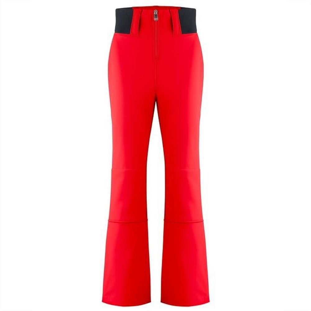 Poivre Blanc Women's Poivre Blanc Softshell Zip Pant - Red