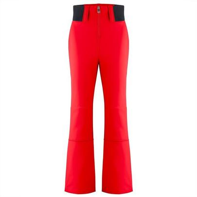 Poivre Blanc Women's Softshell Ski Pant - Scarlet Red