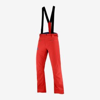 Men's Salomon Stance Pant - Red