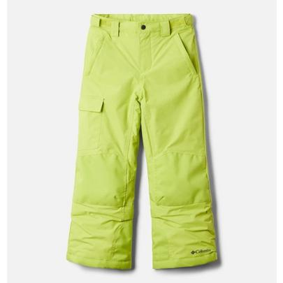 Columbia Youth Bugaboo II Pant - Bright Chartreuse