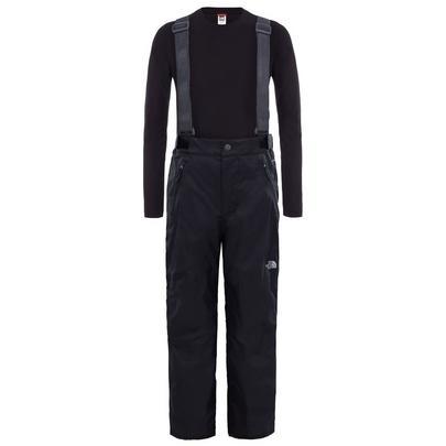 The North Face Kid's Snow Suspender Plus Pant - Black
