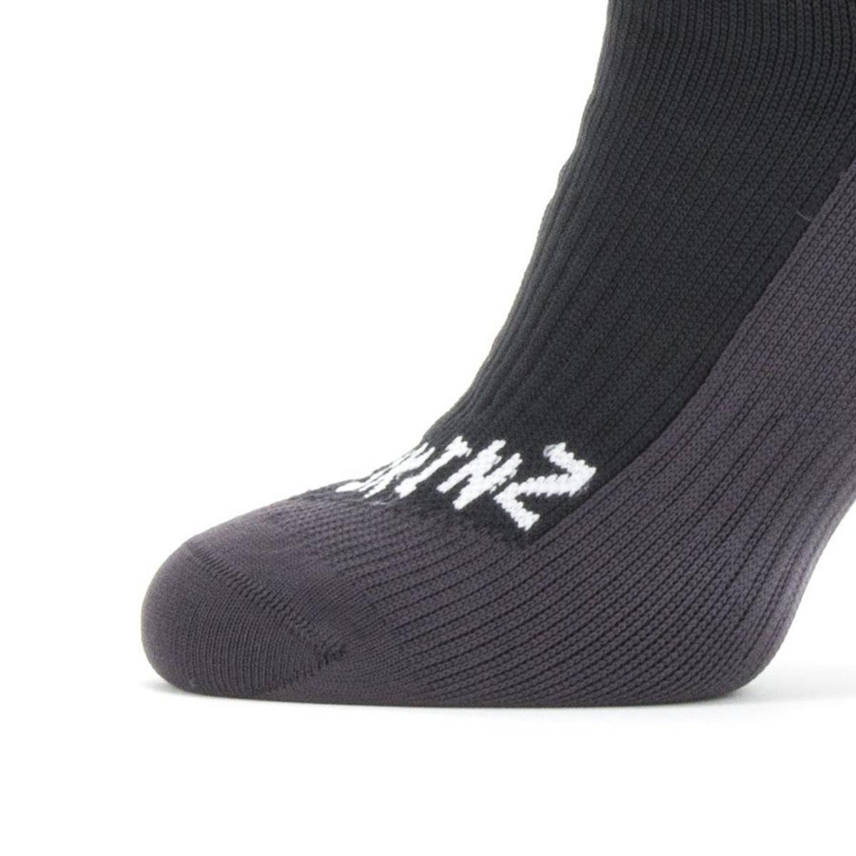 Sealskinz Unisex Sealskinz Waterproof Cold Weather Mid Sock - Black