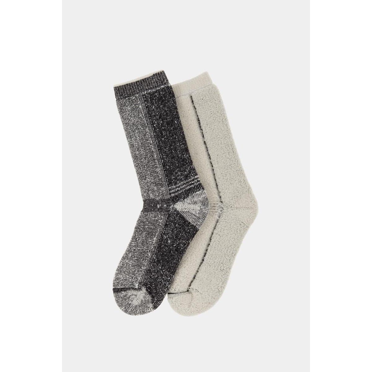 Vicuna Unisex Vicuna Antarctica Sock - Black
