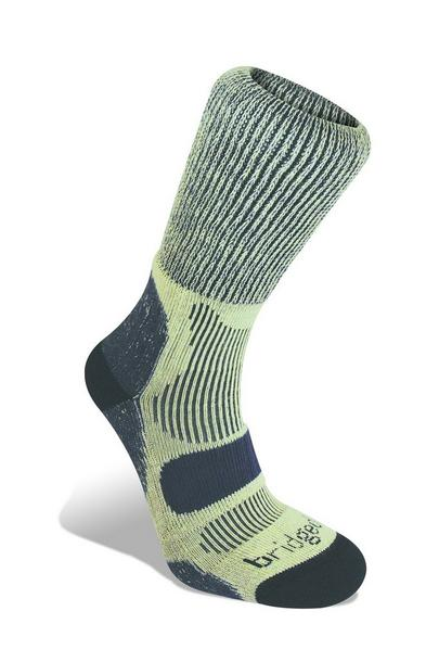 Bridgedale Men's Cotton Cool Hike Lightweight Socks