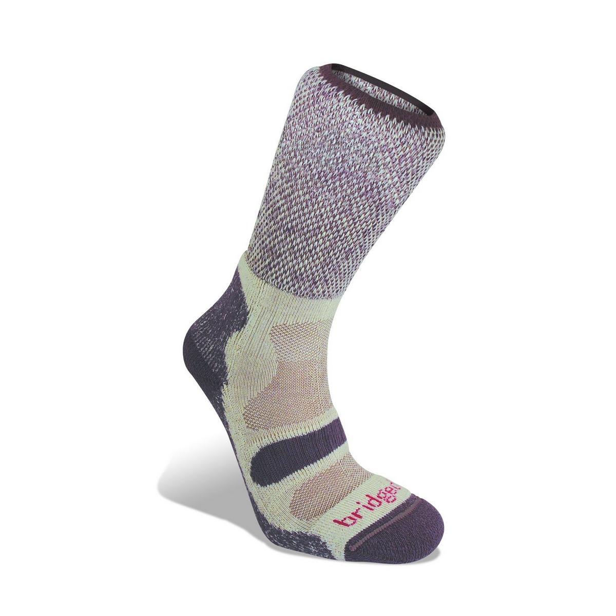Bridgedale Women's Cotton Cool Hike Lightweight Socks