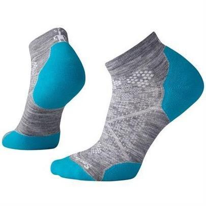 Smartwool Women's PhD Run Light Elite Low Cut Sock - Grey