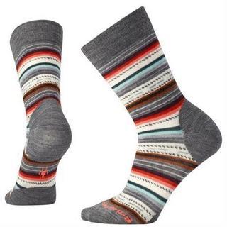 Socks Women's Margarita Medium Grey Heather/Coral