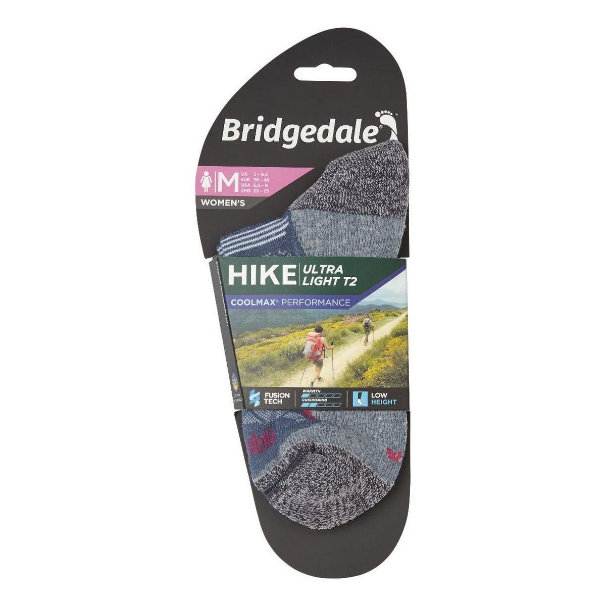 Bridgedale Women's Hike Ultralight T2 - Navy