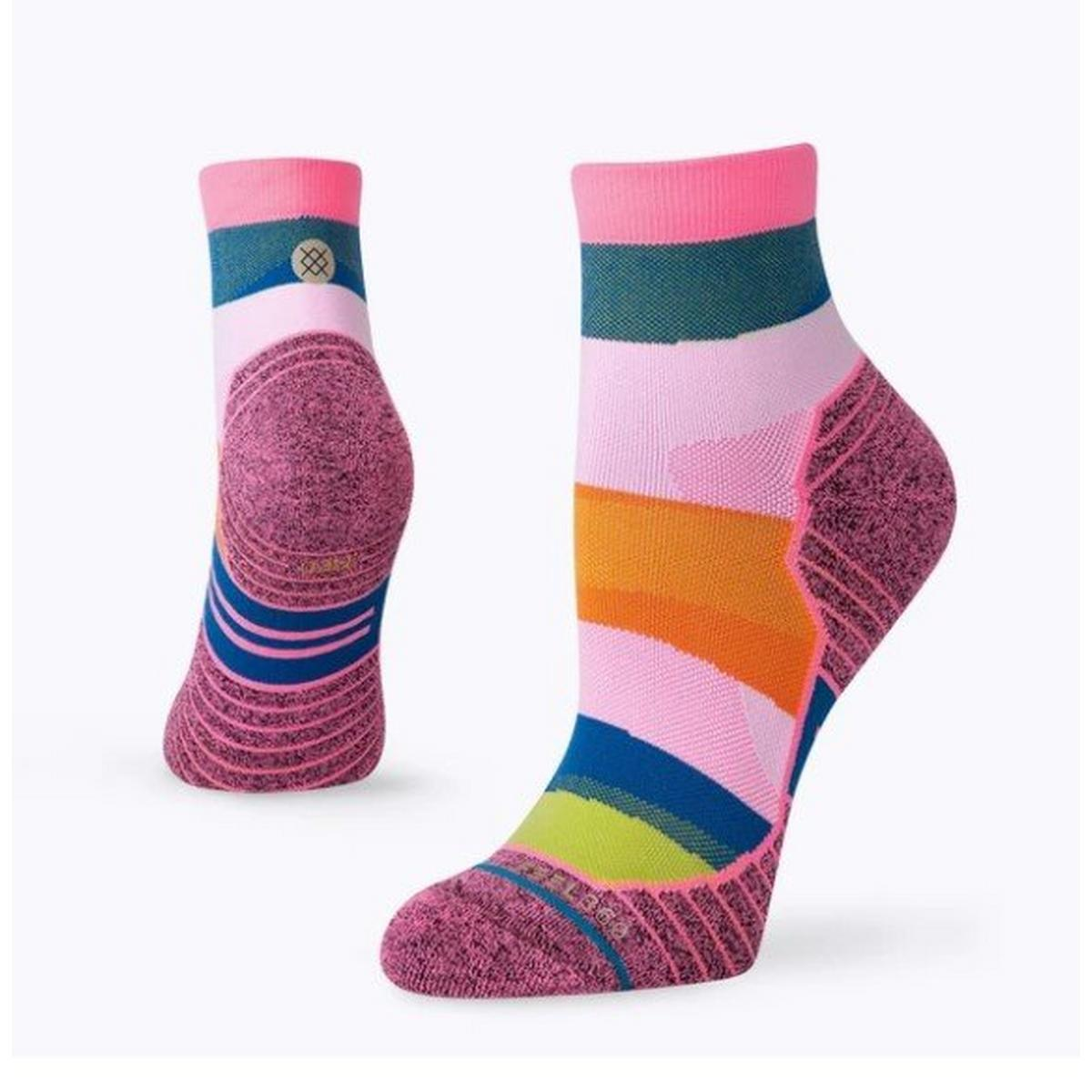 Stance Women's Mix It Up Quarter - Pink