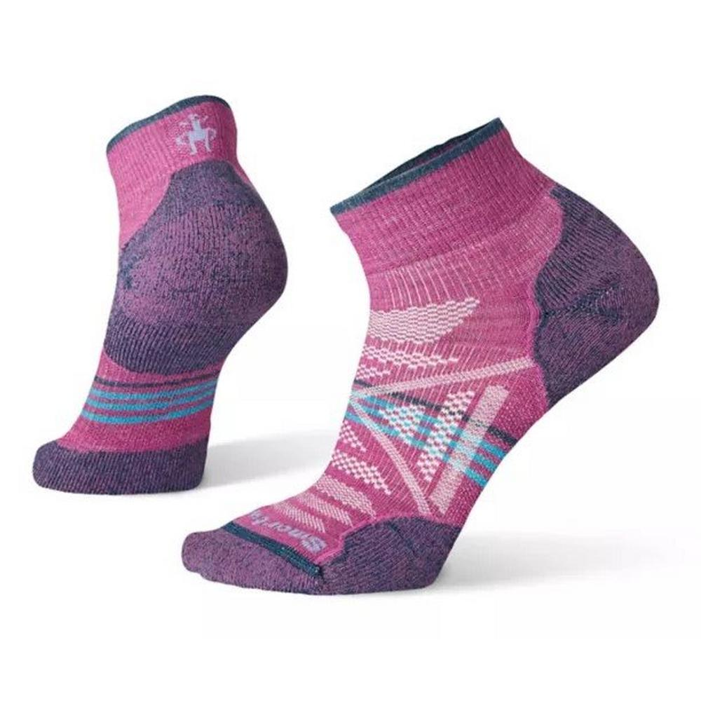 Smartwool Women's PhD Outdoor Light Mini Multisport sock - Pink/Purple