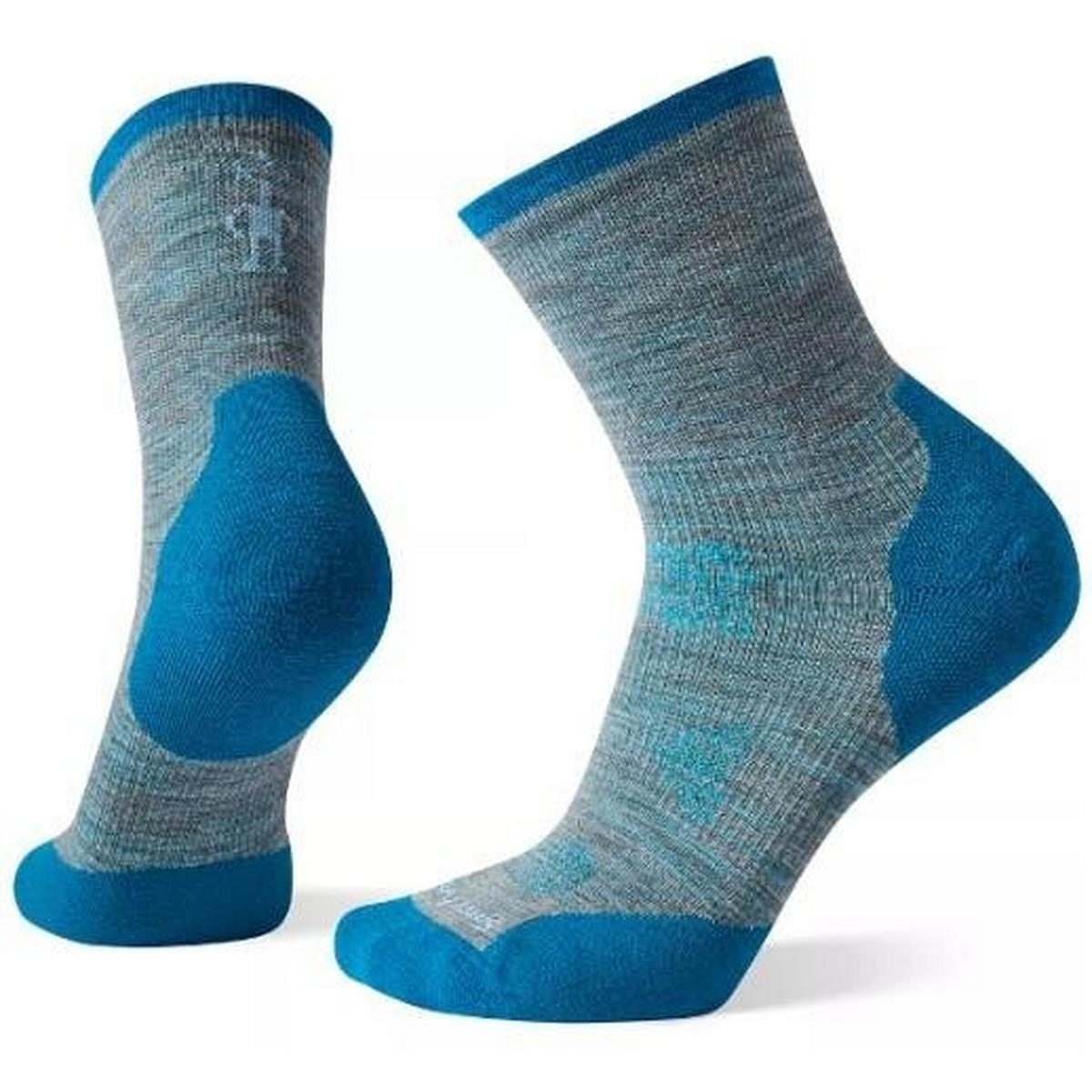 Smartwool Women's Smartwool Phd Run Cold Weather Mid Crew - Blue