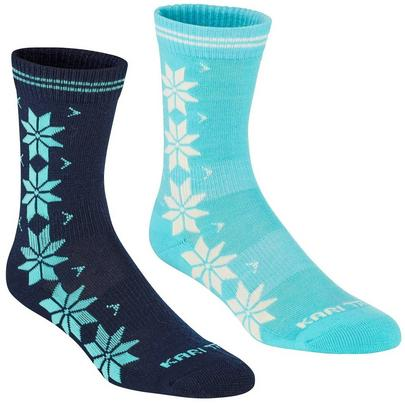 Kari Traa Women's Vinst Wool Sock 2 Pack - Marin
