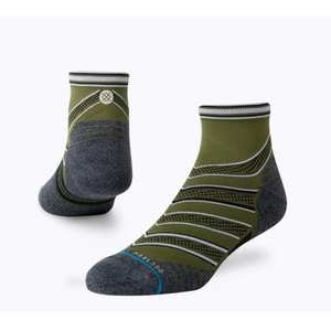 Men's Conflicted Quarter Socks - Green