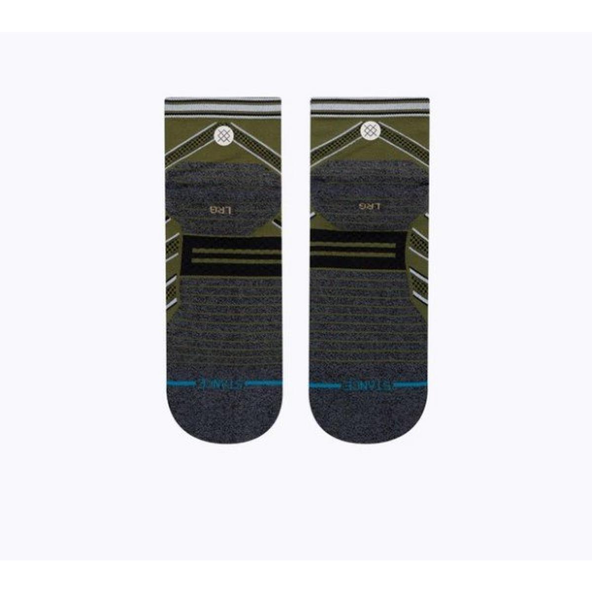 Stance Men's Conflicted Quarter Socks - Green
