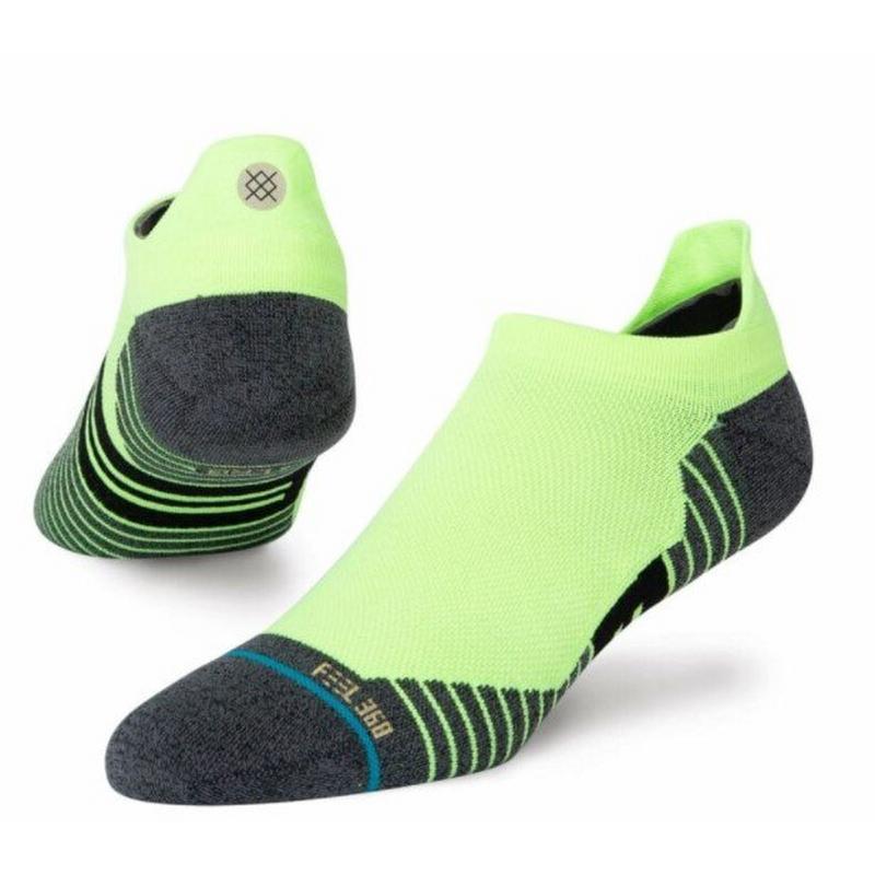 Men's Ultra Tab Socks - Green
