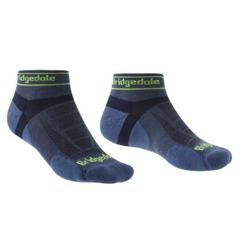 Bridgedale Men's Sport Ultralight T2 Low Sock - Blue