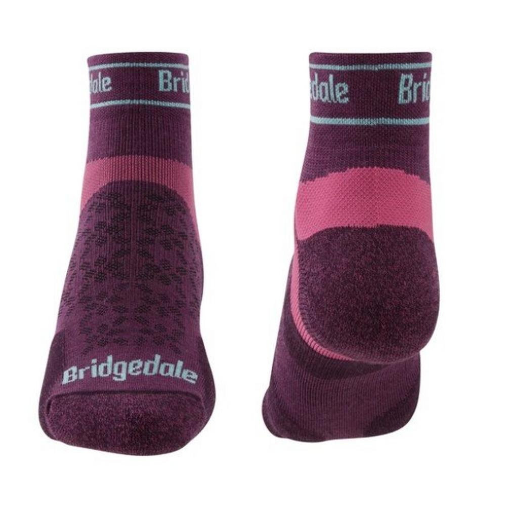 Bridgedale Women's Sport Ultralight T2 Low Sock - Purple