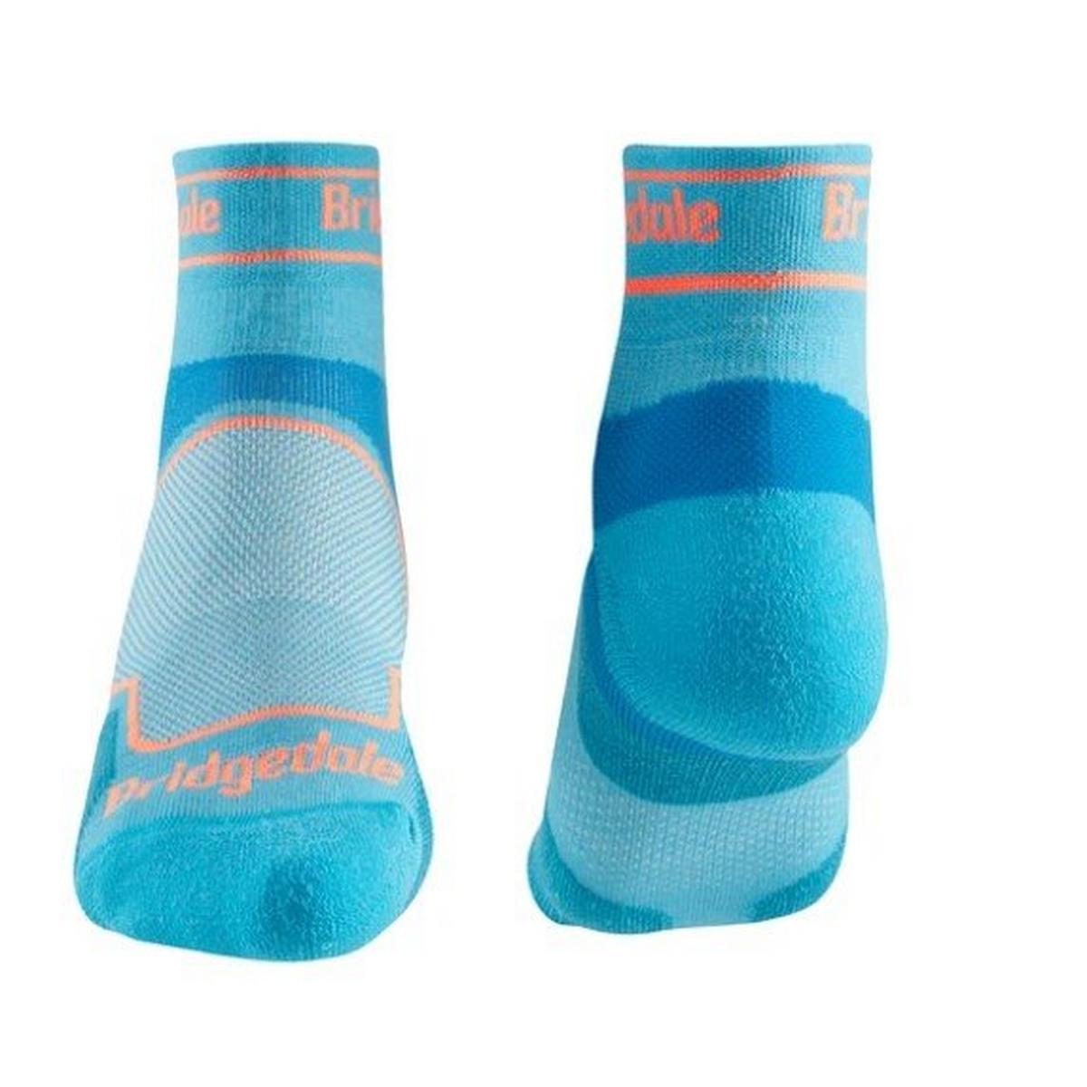 Bridgedale Women's Coolmax Sport Ultralight T2 Low - Blue