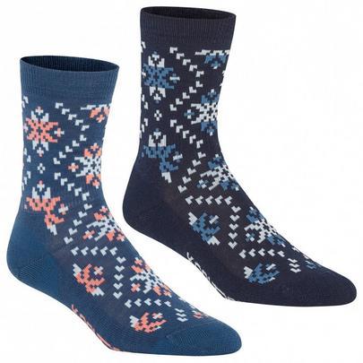 Kari Traa Tiril Wool Sock 2-Pack - Sail