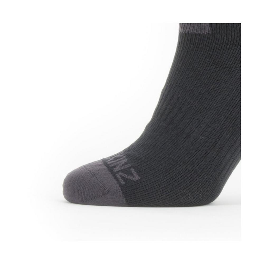 Sealskinz Unisex Sealskinz Waterproof Warm Weather Ankle Sock - Black