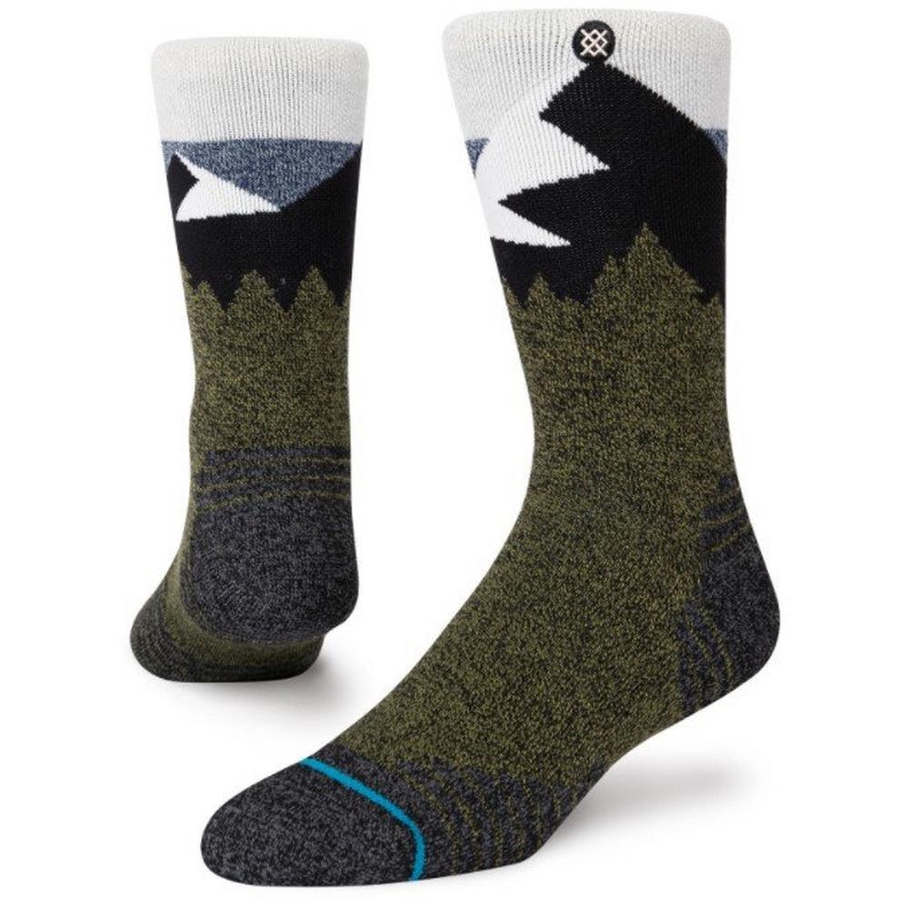 Stance Unisex Divide Street Sock - Green