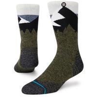 Unisex Divide Street Sock - Green