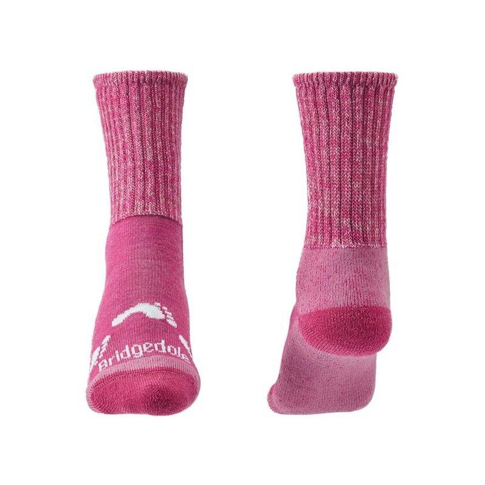 Bridgedale Kids Hike All Season Merino Comfort - Pink