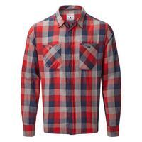 Men's Dusker LS Shirt - Red