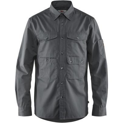 Fjallraven Men's Ovik Shade Pocket Shirt - Grey