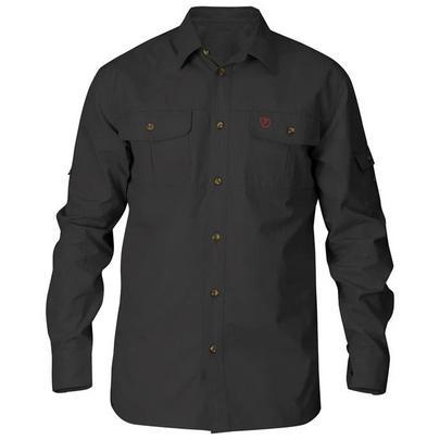 Fjallraven Men's Singi Trekking Shirt Long-Sleeved - Grey