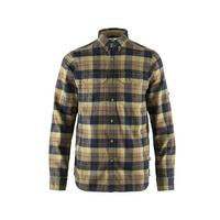 Men's Singi Heavy Flannel Shirt - Dark Sand