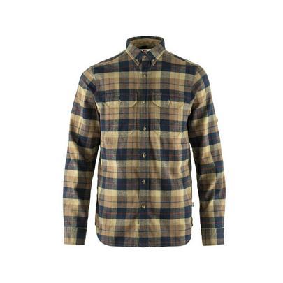 Fjallraven Men's Singi Heavy Flannel Shirt - Dark Sand
