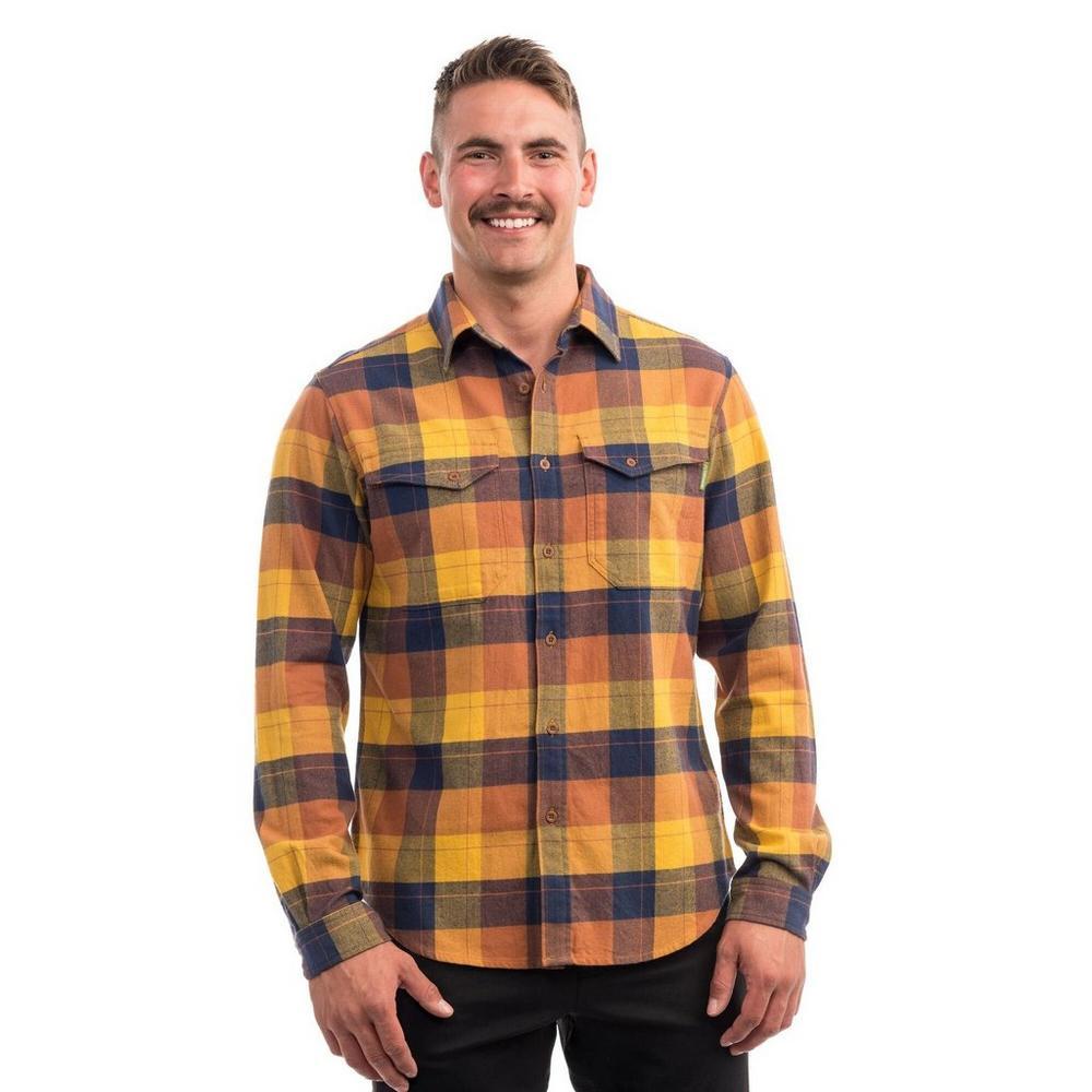 Kathmandu Men's Carrillon Shirt - Toffee