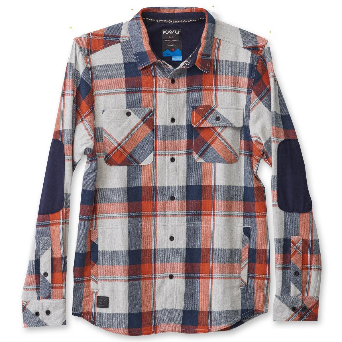 Kavu Men's Baxter Shirt - Overcast 602