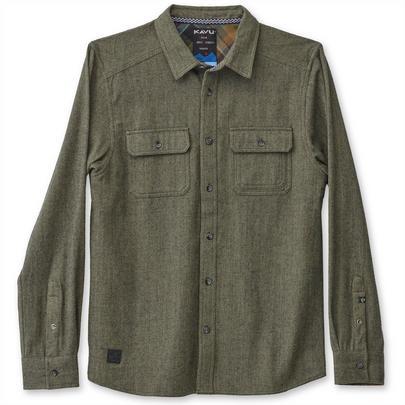 Kavu Men's Franklin Shirt - Thyme