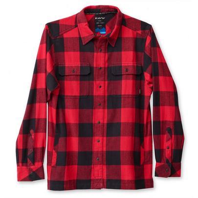 Kavu Men's Northlake Shirt - Red