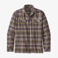 Men's Fjord Flannel Shirt - Grey