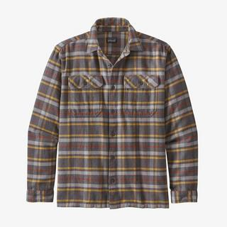 Men's Fjord Flannel LS Shirt - Grey