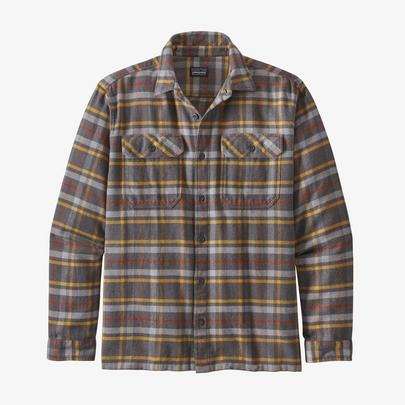 Patagonia Men's Fjord Flannel Shirt - Grey
