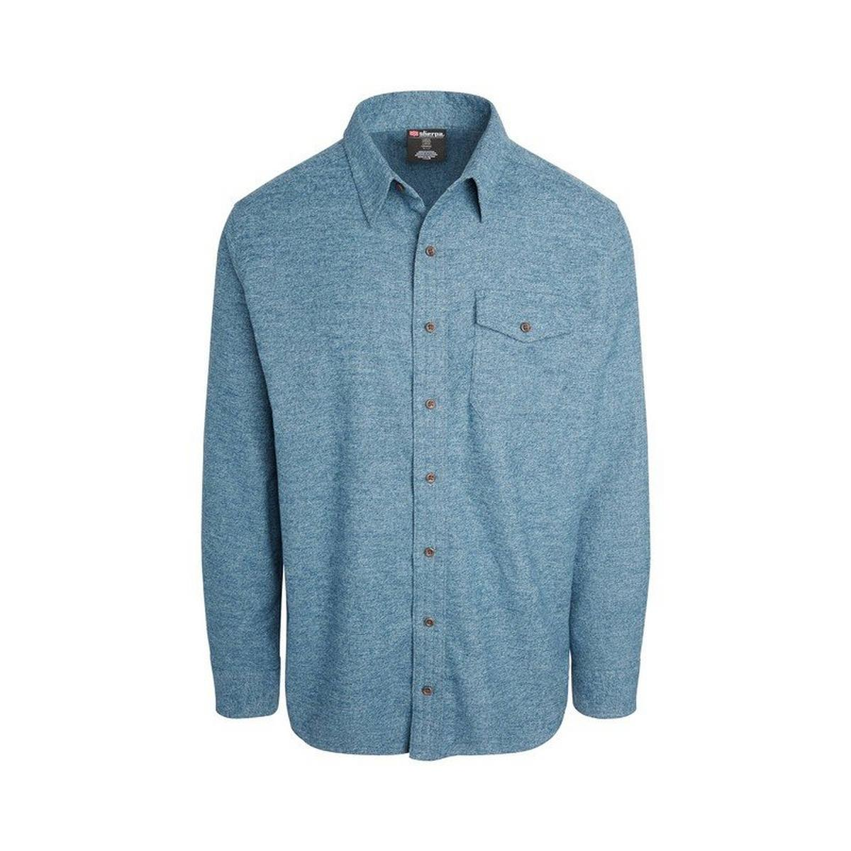 Sherpa Adventure Men's Gelluk Shirt - Rathee Blue
