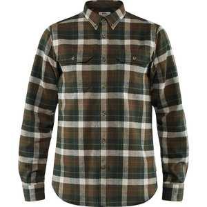 Men's Singi Heavy Flannel Shirt - Green / Deep Forest