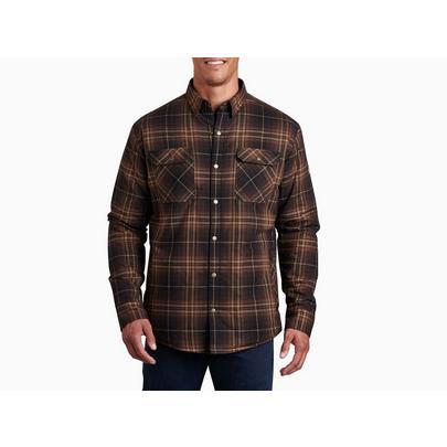 Kuhl Men's Joyrydr Flannel Shirt - Burnt Umber