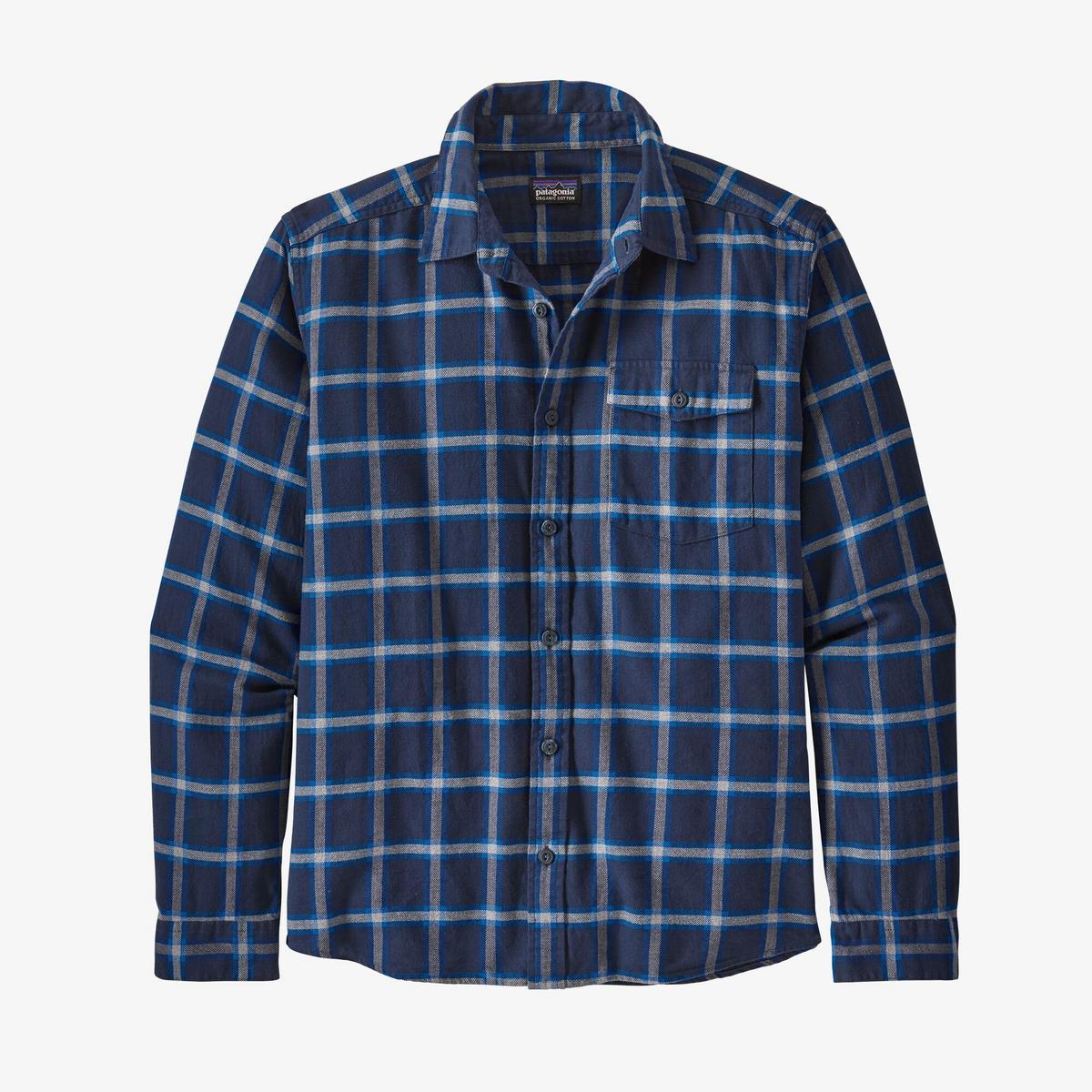 Patagonia Men's Fjord Flannel Shirt - Navy